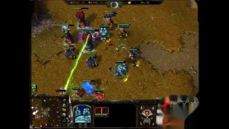 魔兽争霸3 lyn第一视角 花式虐翻对手