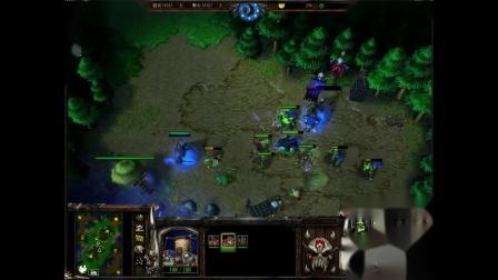 魔兽争霸3 lyn第一视角 围点打援还是引鱼上钩