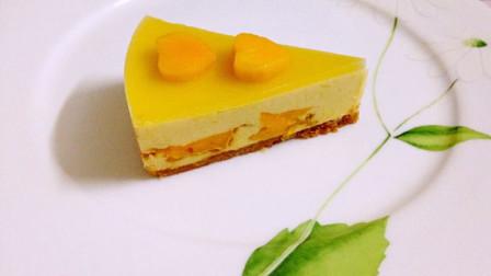 芒果慕斯蛋糕做法原来这么简单,口感细腻香浓