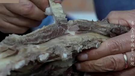 《舌尖上的中国》地道的手把羊肉加上美味韭花酱,更加的香