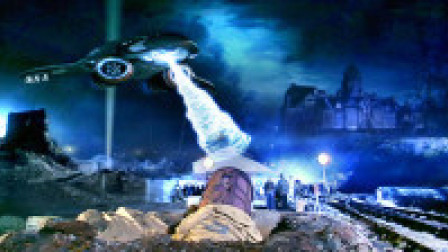 医疗船携带亚原子机器人,将人类改造成恐怖面具人!