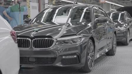 实拍德国汽车制造厂,宝马5系生产过程,足以证明其实力