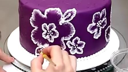 蓝莓芝士蛋糕制作过程,不会的快来学学吧 7