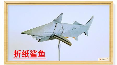 折纸王子宫岛凳鲨鱼1折纸详细视频教程