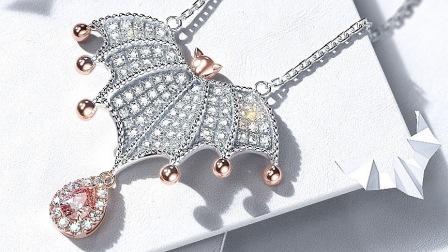 像品牌珠宝公司一样做主题展示广告图。(MAX+KEYSHOT)