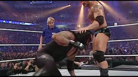 wwe第33届摔跤狂热大赛 WWE摔跤狂热大赛23 死亡谷的主人送葬者vs野兽巴蒂斯塔 全场