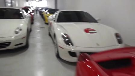 身价过亿才有资格把汽车开进这里,而且必须是法拉利,看完太羡慕