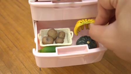 迷你小厨房:今天又是大采购,买了很多菜