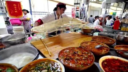 """尝美食看表演!和田夜市落户天津 被称为""""绝不容错过的深夜食堂"""""""