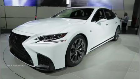 2018款雷克萨斯LS500FSport,打开车门坐进车内后,还要啥宝马7系