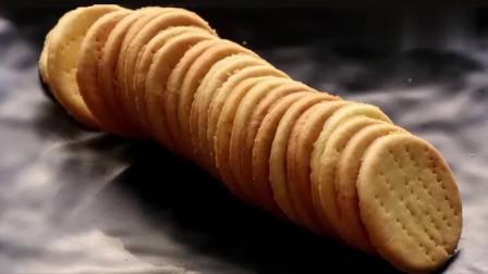 手工制作美味饼干,健康无添加,酥脆又香甜,孩子们吃的放心
