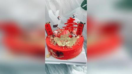 美拍视频: 祝寿蛋糕