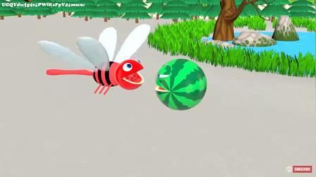 吃豆人变身蜻蜓飞起来疯狂吃吃吃