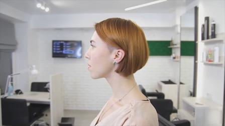 适合轻熟女的知性短发,整个造型看起来吸睛有魅力