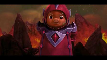 巴罗是黑暗之王的后代,魇魔王和魔龙王五灵王齐名,它能帮巴罗!