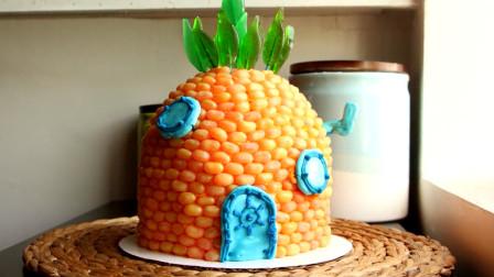 用糖果也能打造出超级逼真的房子来了!菠萝屋蛋糕俘获你的少女心