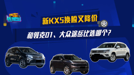 价格亲民、配置出色  起亚KX5、领克01、大众途岳选哪个?