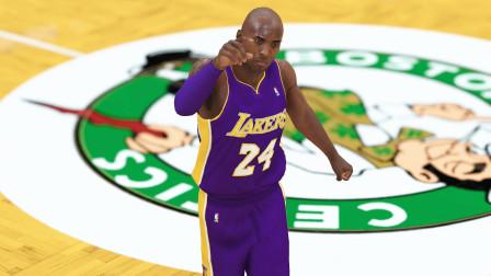【布鲁】NBA2K19生涯模式:湖凯大战!科比狂砍40分!詹姆斯vs欧文(47)