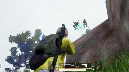 这才是神级枪法,甩手一枪,空中直接秒杀敌人!