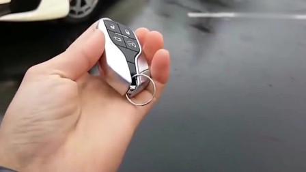 拿出玛莎拉蒂车钥匙的一瞬间,算是真正体现了豪车与普通车的区别