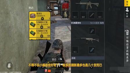 刺激战场:玩家发现子弹!正想高兴时,却发现了问题的所在之处!