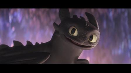 """《驯龙高手3》无牙仔迎娶""""白富美"""",当上首领。网友:简直是龙生巅峰啊"""