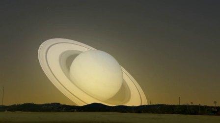 来自土星的造访:如果土星近距离的飞越地球,那该怎么办?