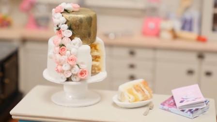 超惊艳迷你厨房来袭!打造出惊喜的婚礼蛋糕,送给闺蜜吧!