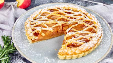 新手向烘焙指南,18元成本教你做香酥苹果派