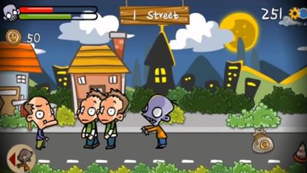 可怜的小僵尸,他的邻居都不喜欢他!游戏