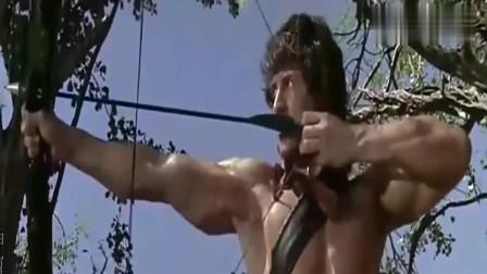 第一滴血:兰博的弓箭到底有多牛,看了你就知道了,网友:太牛了