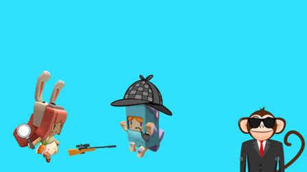 木鱼和小铃铛化身侦探兄妹,调查一起动物狙击案