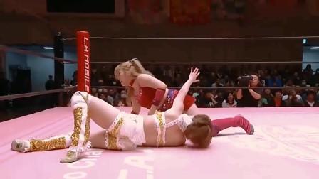 最新拳击比赛 日本女子拳击比赛 格斗现场黄衣女子被暴打 结局意外