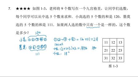 三年级高思竞赛数学导引第1讲四则运算一兴趣篇拓展篇超越篇