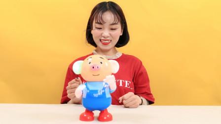 海草猪会唱歌跳舞的儿童电动玩具