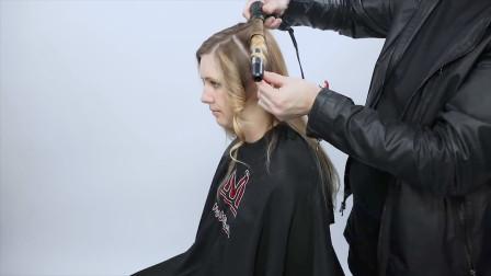 长发稍稍修剪,打造浪漫的法式披肩卷发,好看吗?