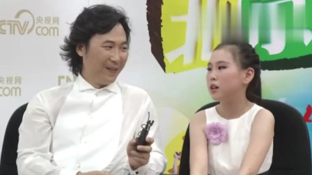 廖昌永携女儿做客节目,女儿谈吐大方,一言一语都透露着幸福