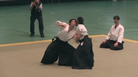日本合气道实战演练,真有这么强悍吗?