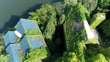 贵州山里烂尾别墅区 昔日价值百万一栋如今荒芜成仙境没人敢住