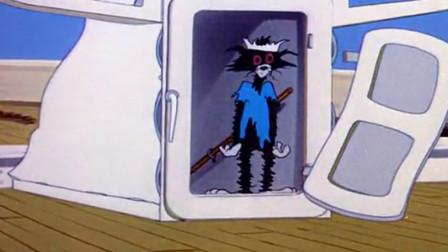 爆笑四川话:汤姆猫抓老鼠偷鸡不成倒蚀把米,把自己炸成非洲黑猫!