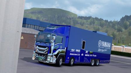 欧洲卡车模拟2 Promods 2.33 日产五十铃大货车 8x4版