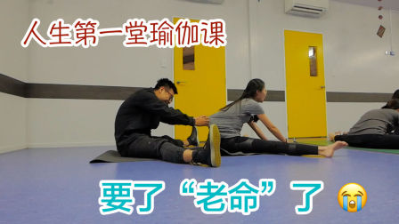 人生第一次瑜伽课,要了老命了(新西兰 Harold Vlog 452)