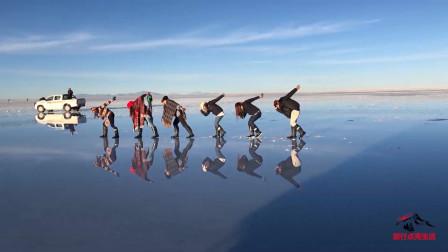 """玻利维亚""""天空之镜""""乌尤尼盐沼,犹如人间仙境般的梦幻秘境"""