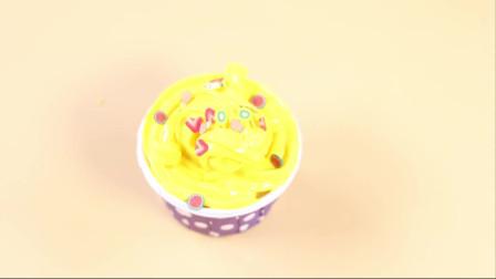 DIY手工制作黄色奶油蛋糕,手工教学视频,简单易学