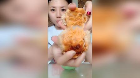 青汁酸奶✚拉丝麻薯燕麦蛋黄酥