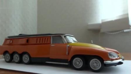 角度影频:雪铁龙打造10个轮子的汽车,却不用来载人和运货,你猜用来干嘛?