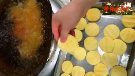 美食制作,原来网红空心南瓜丸子,是这样做的,香酥好吃,做法简单,太解馋了