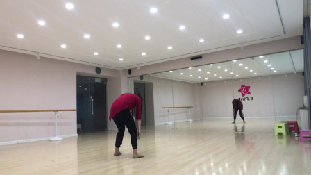 现代舞《成都》镜面分解教学