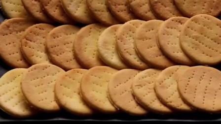 自制鸡蛋小饼干,没有任何添加剂,健康好吃!