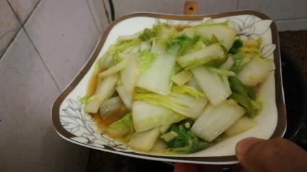 白菜的做法视频,素炒白菜的家常做法,美食菜谱